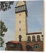 Heublein Tower Wood Print