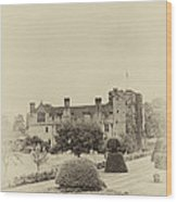Hever Castle Yellow Plate 2 Wood Print