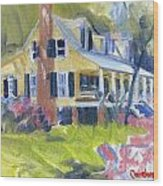 Heyward House Wood Print