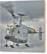 Hh-43 Huskie Wood Print