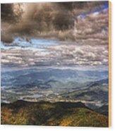 Hiawassee Georgia Wood Print