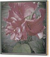 Hibiscus Dream Wood Print