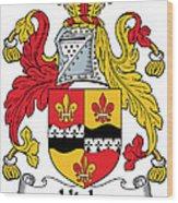 Hicks Coat Of Arms Irish Wood Print