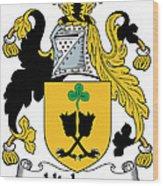 Hickson Coat Of Arms II Kerry Ireland Wood Print