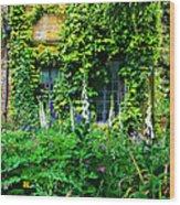 Hidcote Windows Wood Print