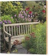 Hidden Garden Charm Wood Print