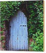 Hidden Doorway Wood Print