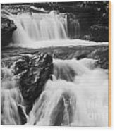 Hidden Falls Sheep River 1 Wood Print