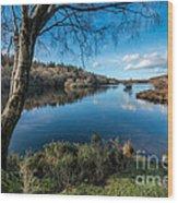 Hidden Lake Wood Print