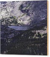 Hidden Lakes Wood Print