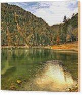 Hidden Paradise Suluklu Gol  Suluklu Lake Wood Print