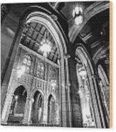 High Arch Wood Print