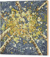 High - Aspens Wood Print