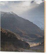High Atlas Mountains Wood Print
