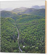 High Country 2 In Wnc Wood Print