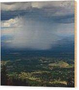 High Country Monsoon Wood Print