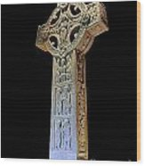 High Cross Of Clonmacnoise Wood Print