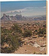 High Desert II Wood Print