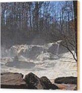 High Falls State Park Wood Print