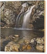High Falls Talledega National Forest Alabama Wood Print