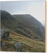 High Street Fell In Lake District Wood Print