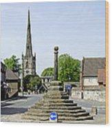 High Street To Willington Road - Repton Wood Print