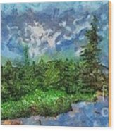 High Tatra Mountains Wood Print