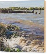 High Tide Wood Print by Dawn OConnor