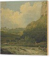 High Tor, Matlock, 1811 Wood Print