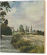 Higham Upshire Wood Print