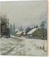 Higham Winter 86 Wood Print