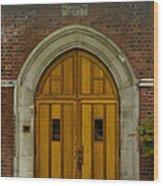 Higher Doors Wood Print