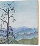Highland Wood Print