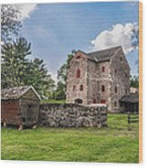Highland Farm - Ambler Pa Wood Print
