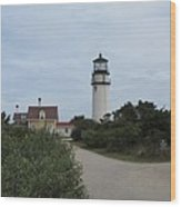 Highland Light Aka Cape Cod Light Wood Print