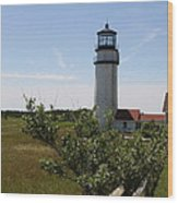 Highland Light - Cape Cod - Ma Wood Print