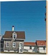 Highland Lighthouse Or Cape Cod Lighthouse Wood Print