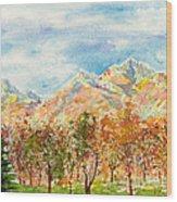 Highlands Autumn Wood Print