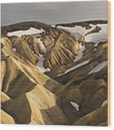 Highlands Fjallabak Nature Reserve Wood Print