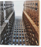 Highrise At Rittenhouse Square Wood Print