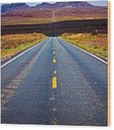 Highway 163 Wood Print