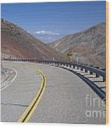 Highway 190 Wood Print by Chris Selby