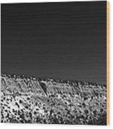 Highway 502 To Los Alamos Nm Wood Print