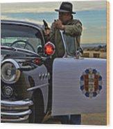 Highway Patrol 6 Wood Print