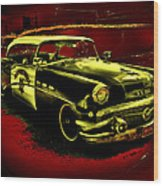 Highway Patrol Wood Print