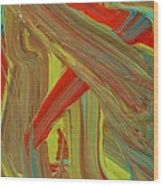 Highway To Abstraction Wood Print