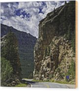 Highway To Heaven Wood Print by Tom Wilbert