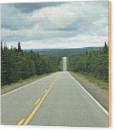 Highway Wood Print