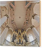 Hildebrandt Organ Naumburg Wood Print