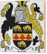 Hill Coat Of Arms II Irish Wood Print